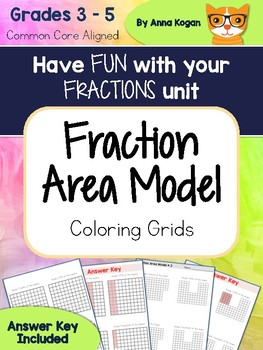 Fun with Fractions: Area Model Activities (CCS: 3.G.2, 4.NF.1, 4.NF.5, 5.NF.5)