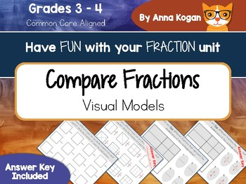 Fun with Fractions: Compare & Equivalent  (CCS: 3.NF.3, 4.NF.2)