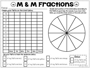 Fun with Fractions / M&M Fractions