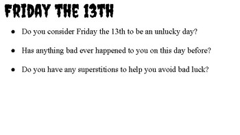 Fun with Friday the 13th