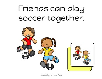 Fun with Friends Match Book (Adapted Book)