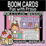 Fun with Froyo Articulation - Alveolar Bundle (T, D) - Boom Cards