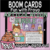 Fun with Froyo Articulation - Velar Bundle (K,G) - Boom Cards