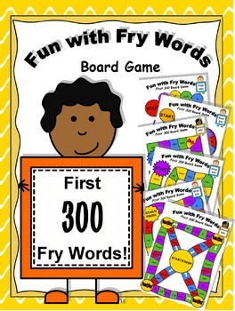 Fun with Fry Words Board Game