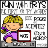 Fun with Frys! {Activities for the first 100 Fry Words} CO