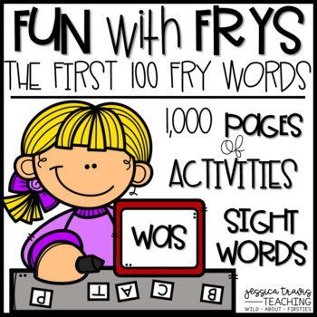 Fun with Frys! {The First 100 Fry Words} THE BUNDLE