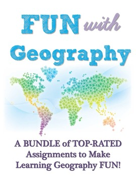 Fun with Geography - A BUNDLE of TOP-RATED Social Studies