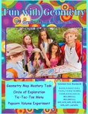 Fun with Geometry Activities Bundle – 7th Grade PBL with Math