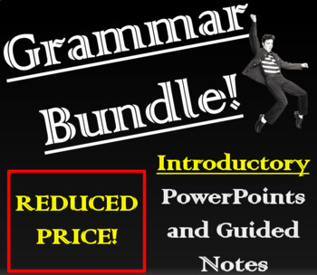 Fun with Grammar! Introductory PowerPoint Presentations and Practice!