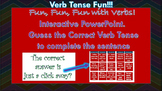 Fun with Verb Tenses!! Interactive PPT. for Smart boards!