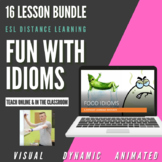 ESL Distance Learning - Fun with Idioms Bundle