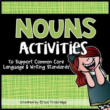 Nouns Activities {FUN Common Core Language Practice}