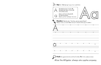 Fun with Letters and Sounds phonics and handwriting workbook