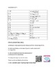 Fun with Logarithms Worksheet or Quiz