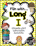 Fun with Long I! {Common Core Word Work Activities}