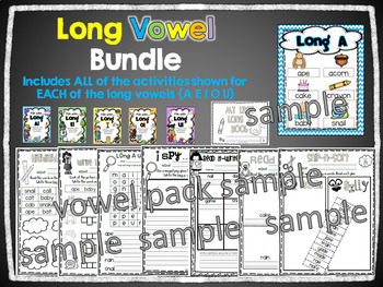 Fun with Long Vowels! BUNDLE {Common Core Word Work Activities}