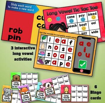 Long Vowels~Promethean Board Flipchart