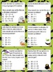Fun with Math Basic Division Math Task Cards Halloween Common Core Inspired