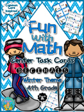Fun with Math Center Task Cards Decimals Part One Common Core Inspired