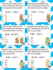 Fun with Math Center Task Cards Decimals Part Two Common C