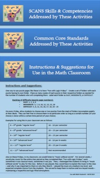 Fun with Math Puzzles #1 (Includes Writing Prompts!): 25 Puzzle Pages
