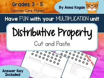 Fun with Multiplication: Distributive Property (3.OA.5, 4.OA.4, 5.OA.1)