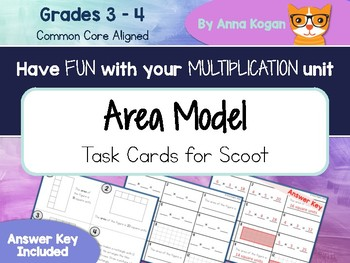 Fun with Multiplication & Geometry: Area Activities (3.OA.4, 3.MD.7, 4.MD.3)