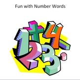 Fun with Number Words - A collection of short number words songs and chants