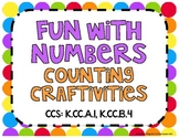 Fun with Numbers Counting Craftivities