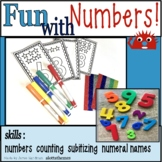 Fun with NUMBERS Activities Kindergarten
