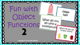 Fun with Object Functions 2: Household Objects-Receptive/Expressive Pack