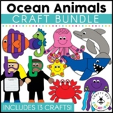 Ocean Animals Cut and Paste Set