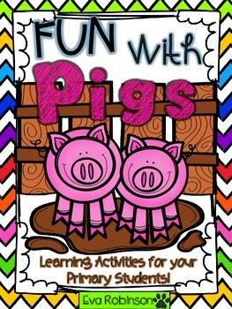Fun with PIGS- Primary Learning Activities!