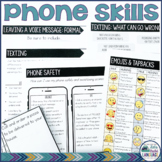 Phone Skills: Life Skills   Social Skills Unit