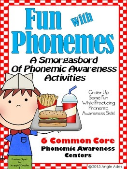 Fun with Phonemes- A Smorgasbord of Phonemic Awareness Activities