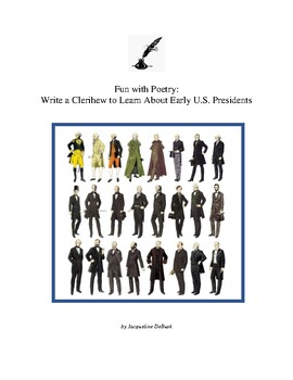 Fun with Poetry: Write a Clerihew to Learn About Early U.S. Presidents