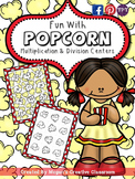 Fun with Popcorn {Multiplication and Division Centers}