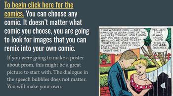 Fun with Public Domain Comics Using Pixlr
