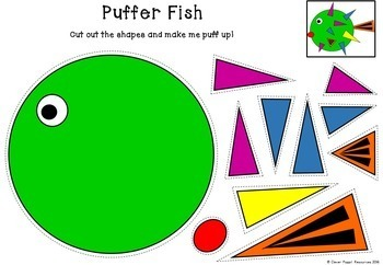 Fun with Shapes - 'Funky Fish'