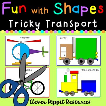 Fun with Shapes - 'Tricky Transport'