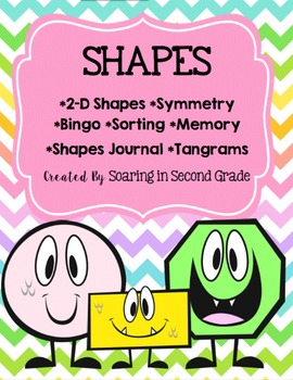 Shapes Games, Activities, Worksheets
