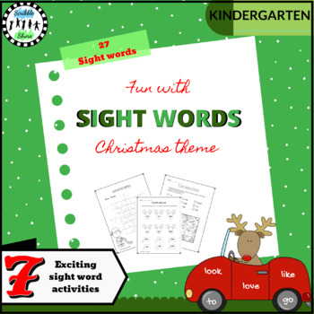 Fun with Sight Words - Christmas Theme