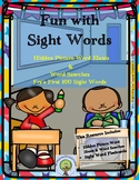 Sight Words: Hidden Sight Word Pictures and Word Searches