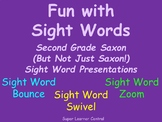Fun with Sight Words--Sight Word Bounce, Swivel and Zoom!