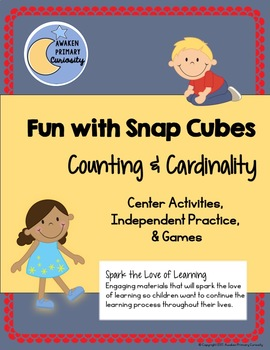 Fun with Snap Cubes Counting and Cardinality