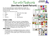 Fun with Spanish Flashcards BUNDLE!