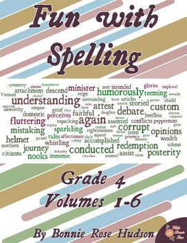 Fun with Spelling Grade 4, Volumes 1-6