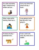 Fun with Story Starters!