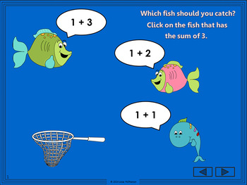 Addition Fun with Sums to 5 Interactive Math Games {Bundle}