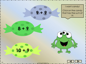 Addition Fun with Sums 11 to 20 Interactive Math Games {Bundle}